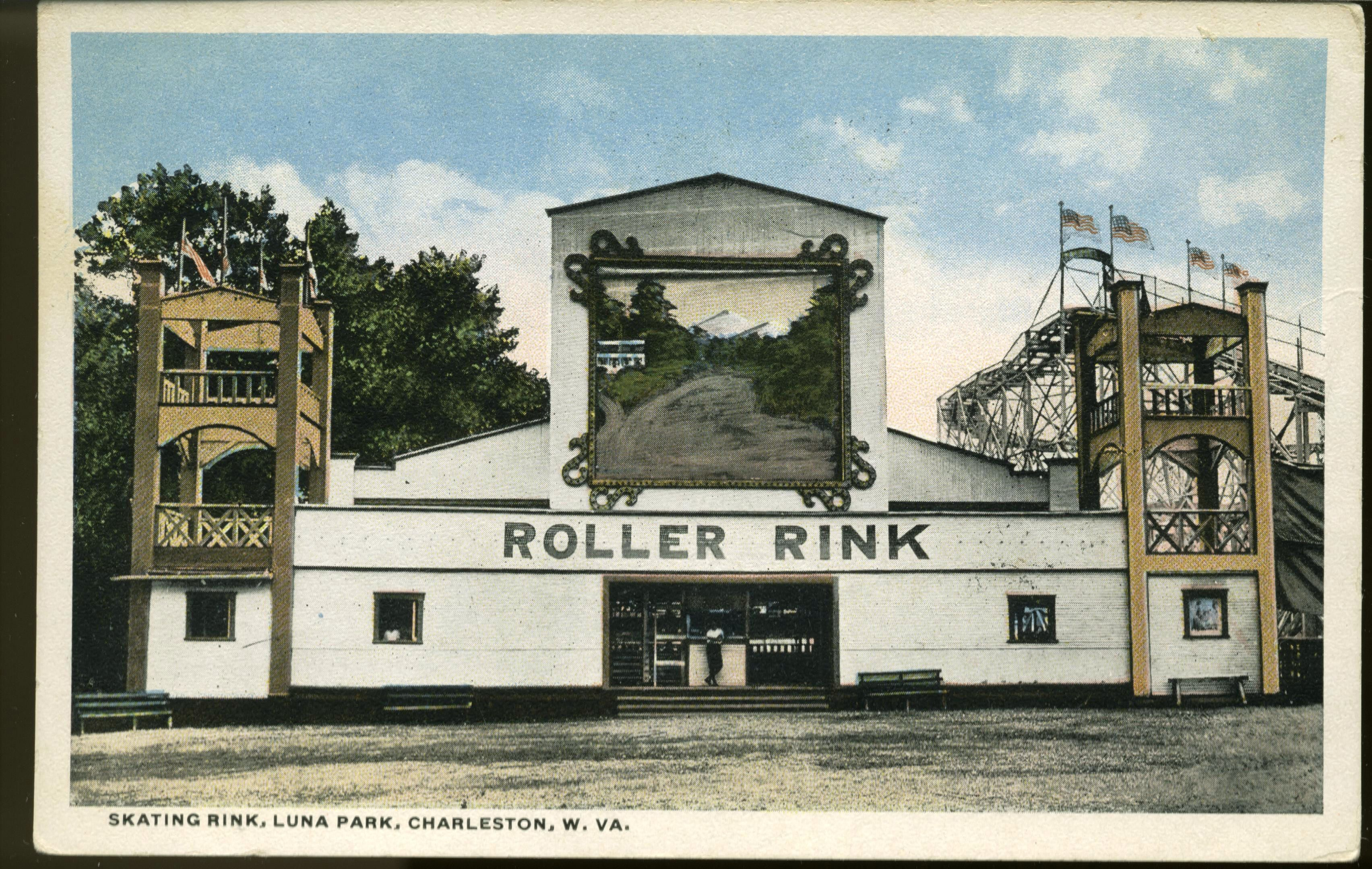 Skating Rink Luna Park Charleston West Virginia Pinterest