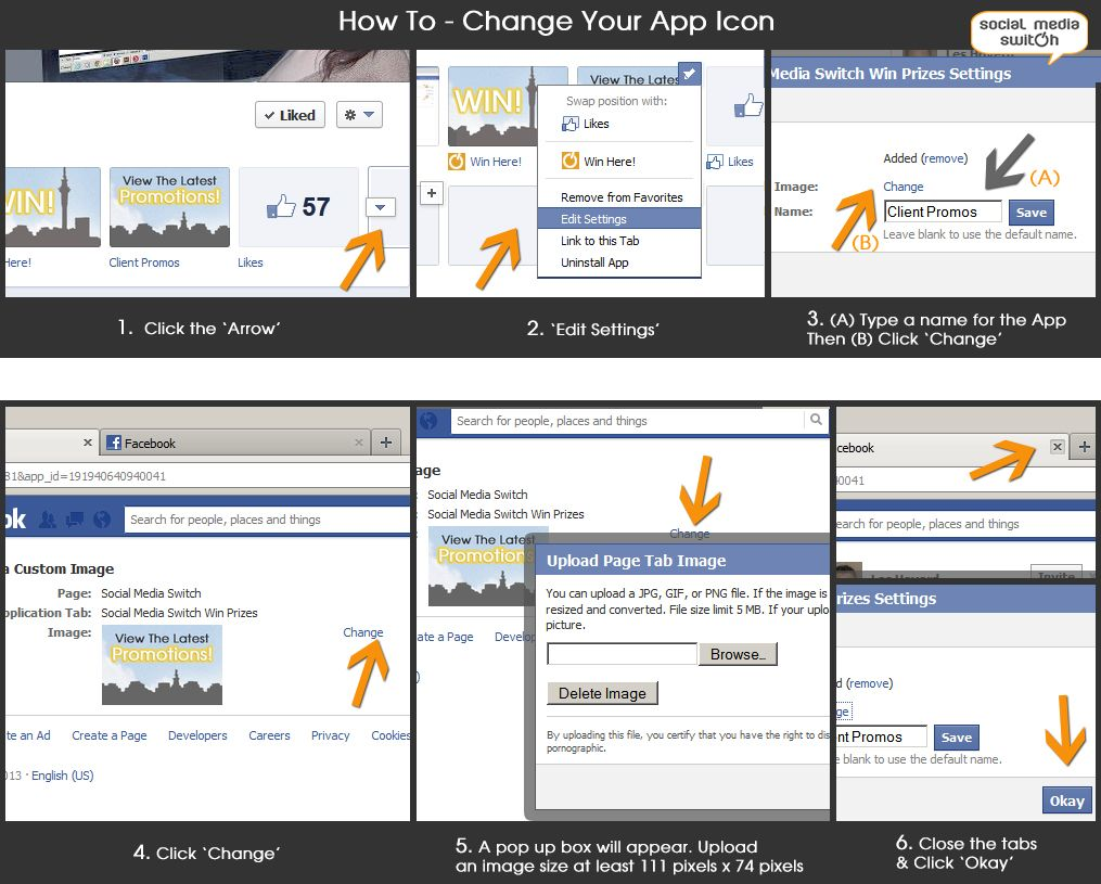 TECHNOLOGY TUTORIAL HOW TO CHANGE YOUR FACEBOOK APP