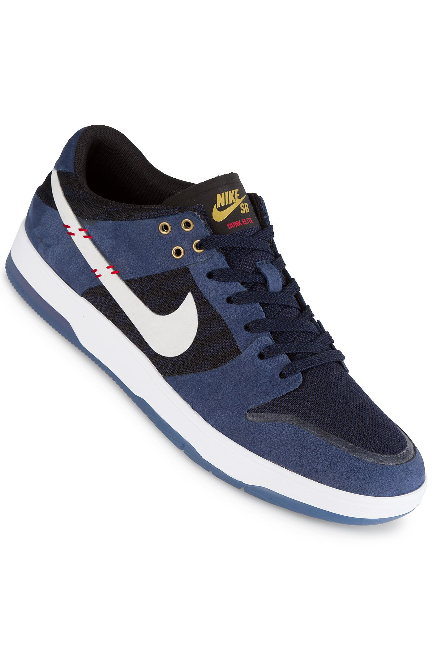 Nike SB x NBA Dunk High Pro Schuh (black black college navy)  e925e4daf