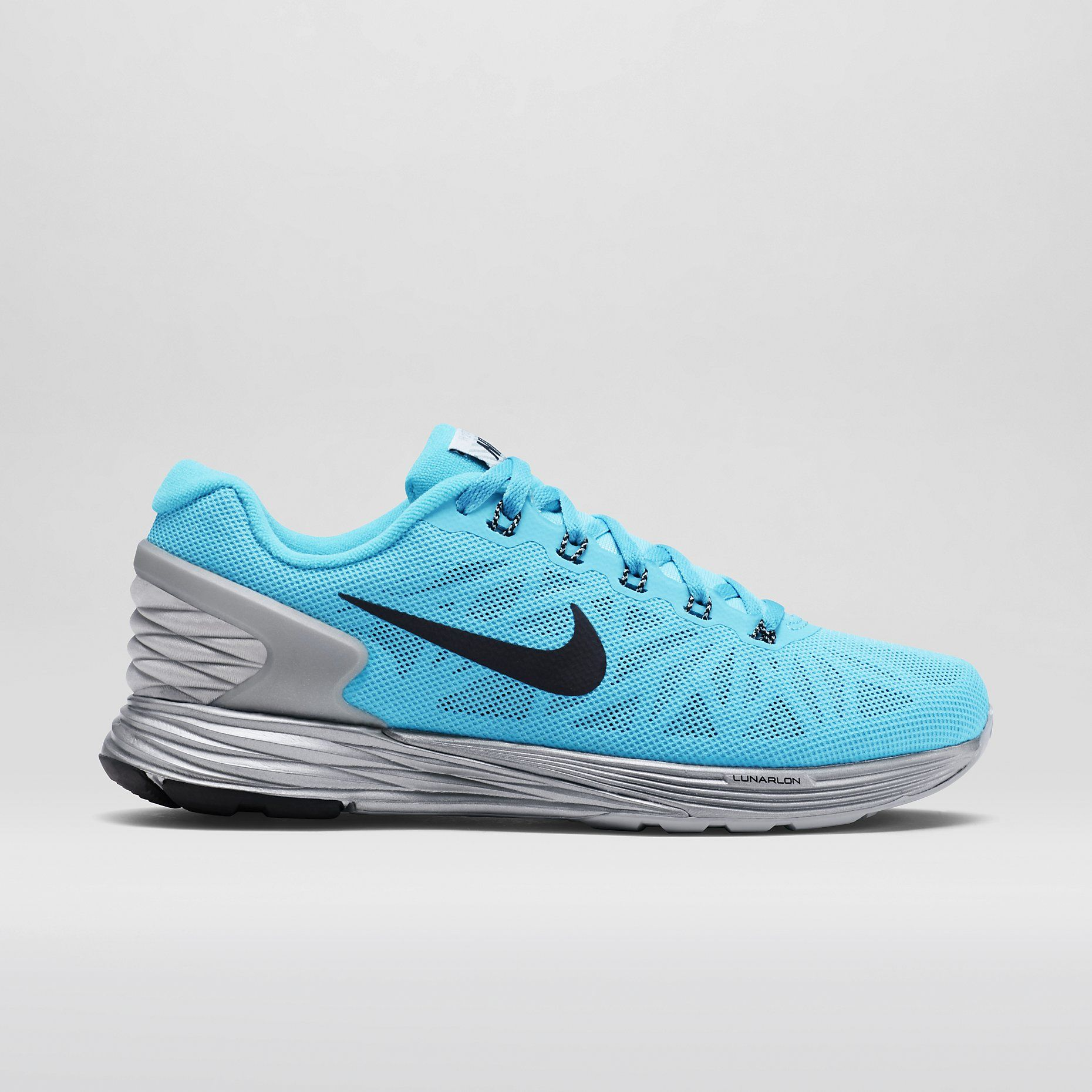 Nike LunarGlide 6 Flash Women's Running Shoe. Good for winter, waterproof  material a little