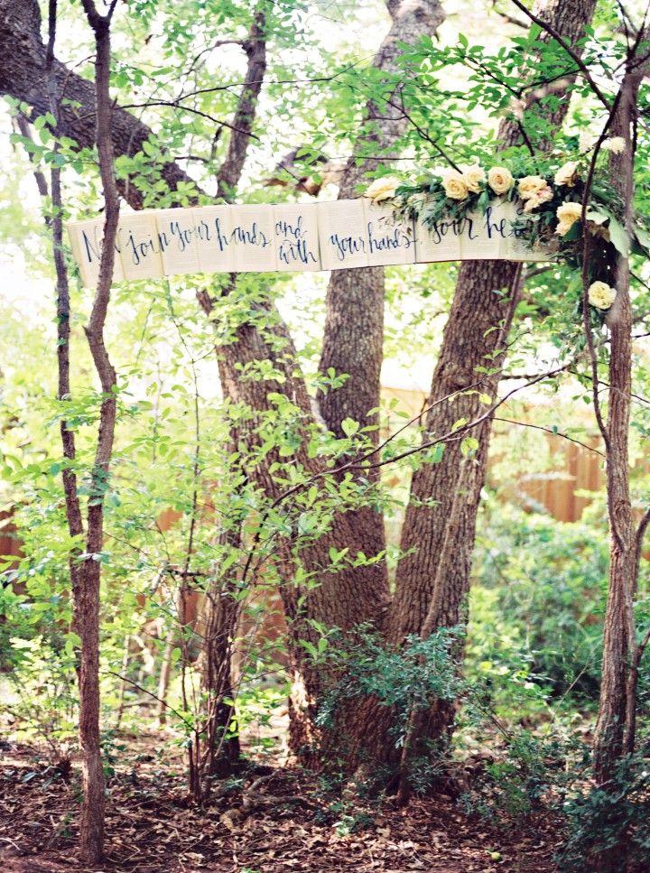 English Garden Theme Texas Wedding Inspiration Modwedding Holmes