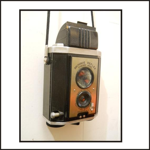 Vintage Eastman Kodak camera.Free shipping.