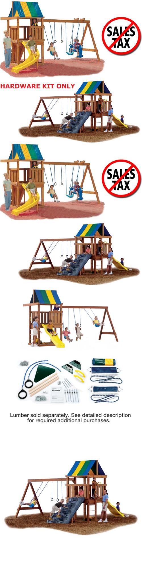 swings slides and gyms 16515 playground swing set kit hardware