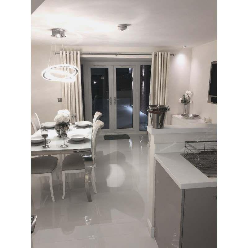 Extreme White Polished Porcelain Floor Tiles   Floor tiles ...