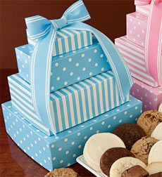 Cheryl S Welcome Baby Boy Gift Tower Send Congratulatory Wishes Or