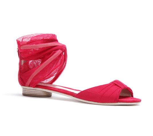 Pink Tulle sandals!