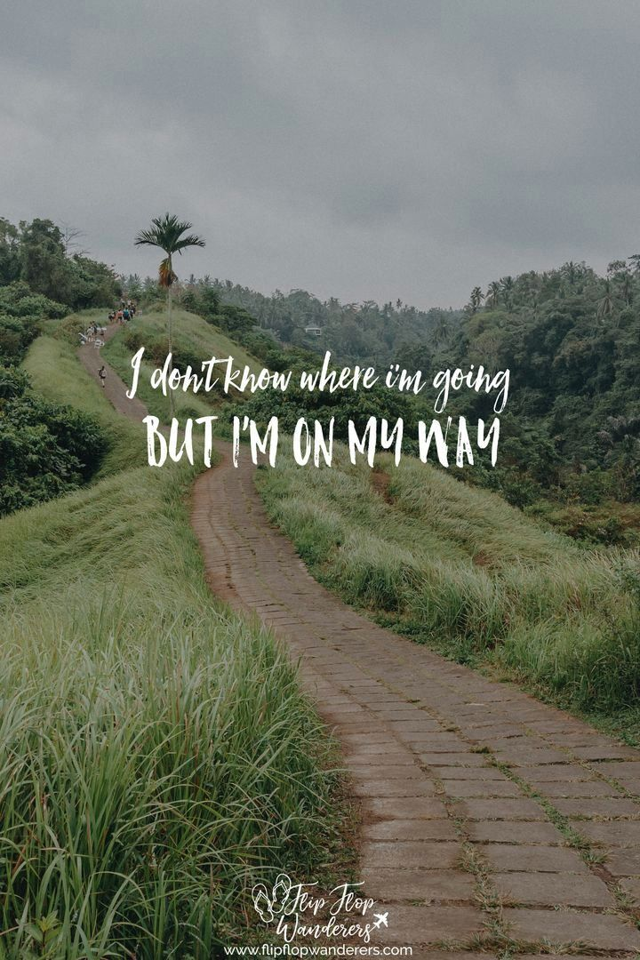 We actually never really know where we are going 😉  #travelquote #travel #quote #onmyway