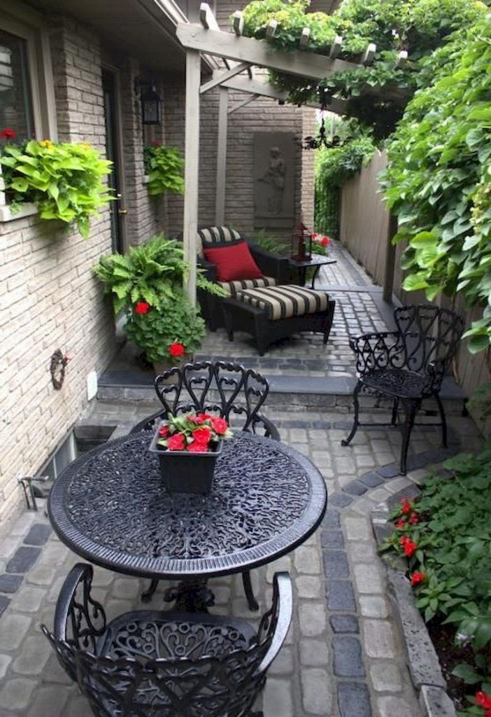 44 amazing small patio ideas on a budget page 16 of 43 on best large backyard ideas with attractive fire pit on a budget id=57163