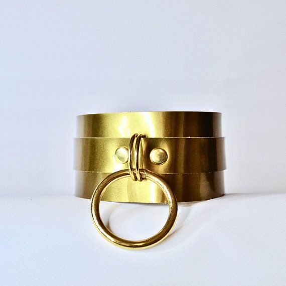 Gold Bdsm Collar