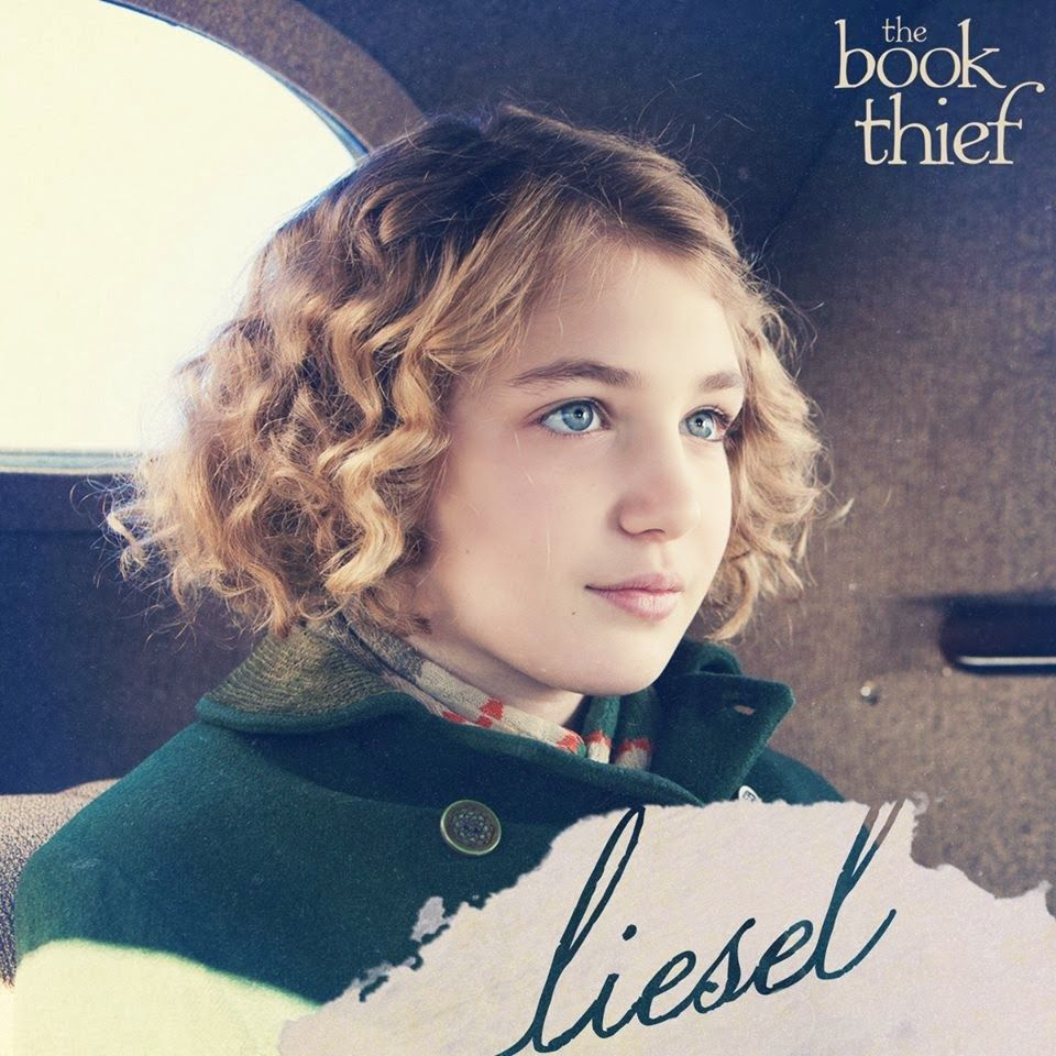 this is a picture of liesel riding in the car on her way to the the book thief liesel meminger