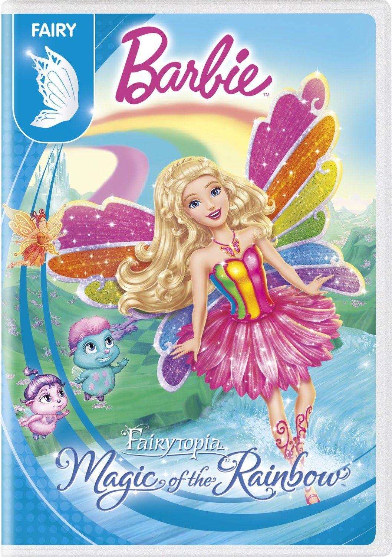 Barbie fairytopia magic of the rainbow 2016 dvd with new