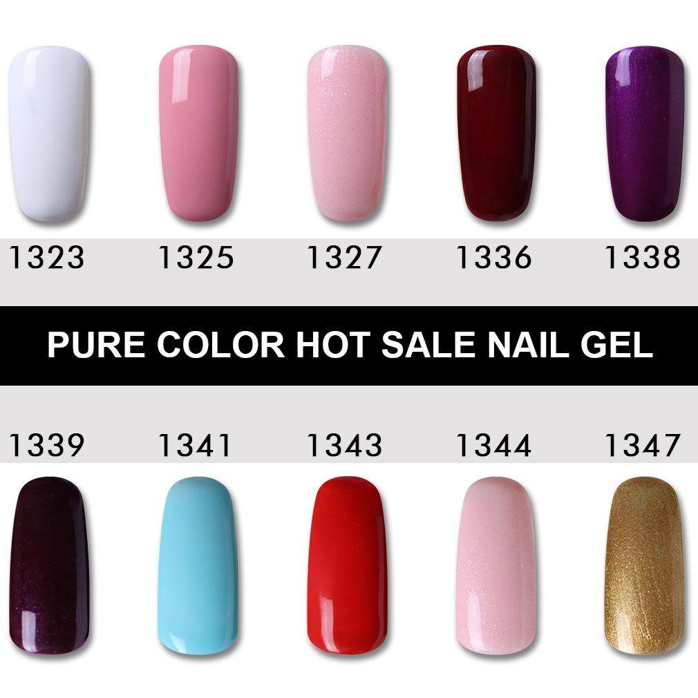 Best Price Hnm 8ml Uv Gel Nail Polish Led Lamp Gel Lacquer 58 Shade Gel Polish Pure Colours Semi Everlasting Gel Varnish Nail Primer Base Prime Check More At Ht
