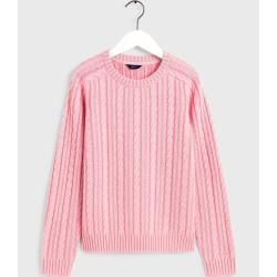 Photo of Gant Vintage Sweater mit Zopfmuster (Pink) GantGant