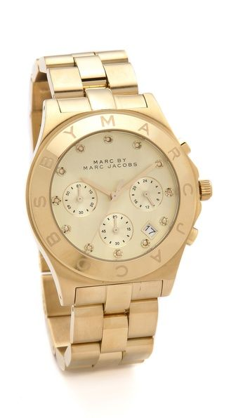 $275 Marc by Marc Jacobs Large Blade Chrono Watch