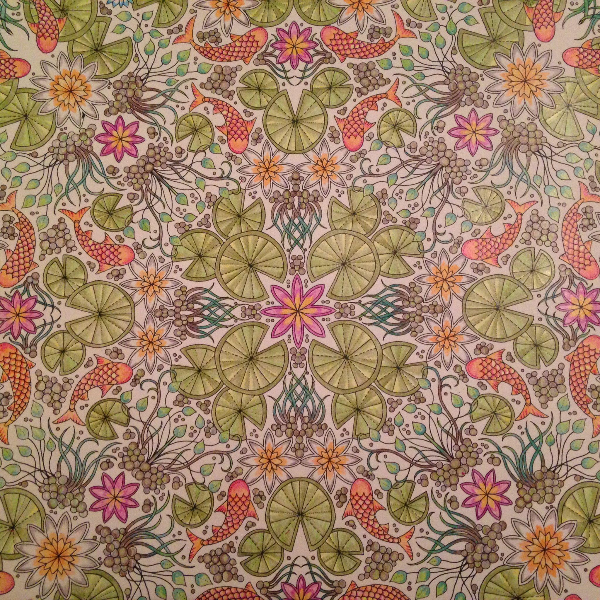 From Secret Garden colouring book | Secret Garden | Pinterest ...