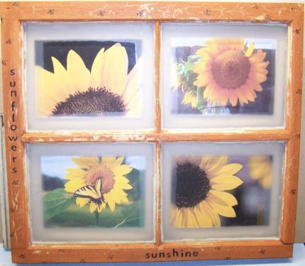 Cool Idea To Use An Old Window And Make Some Art Old
