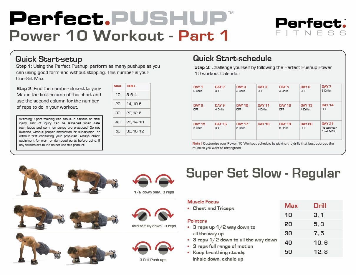 how to use perfect pushup