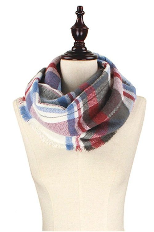 """Hello GORGEOUS!! """"Look"""" at this Blue Gray Infinit... we just got in stock! FREE SHIPPING!! Order while supplies last at http://wildtyboutique.com/products/blue-gray-infinity-scarf?utm_campaign=social_autopilot&utm_source=pin&utm_medium=pin"""