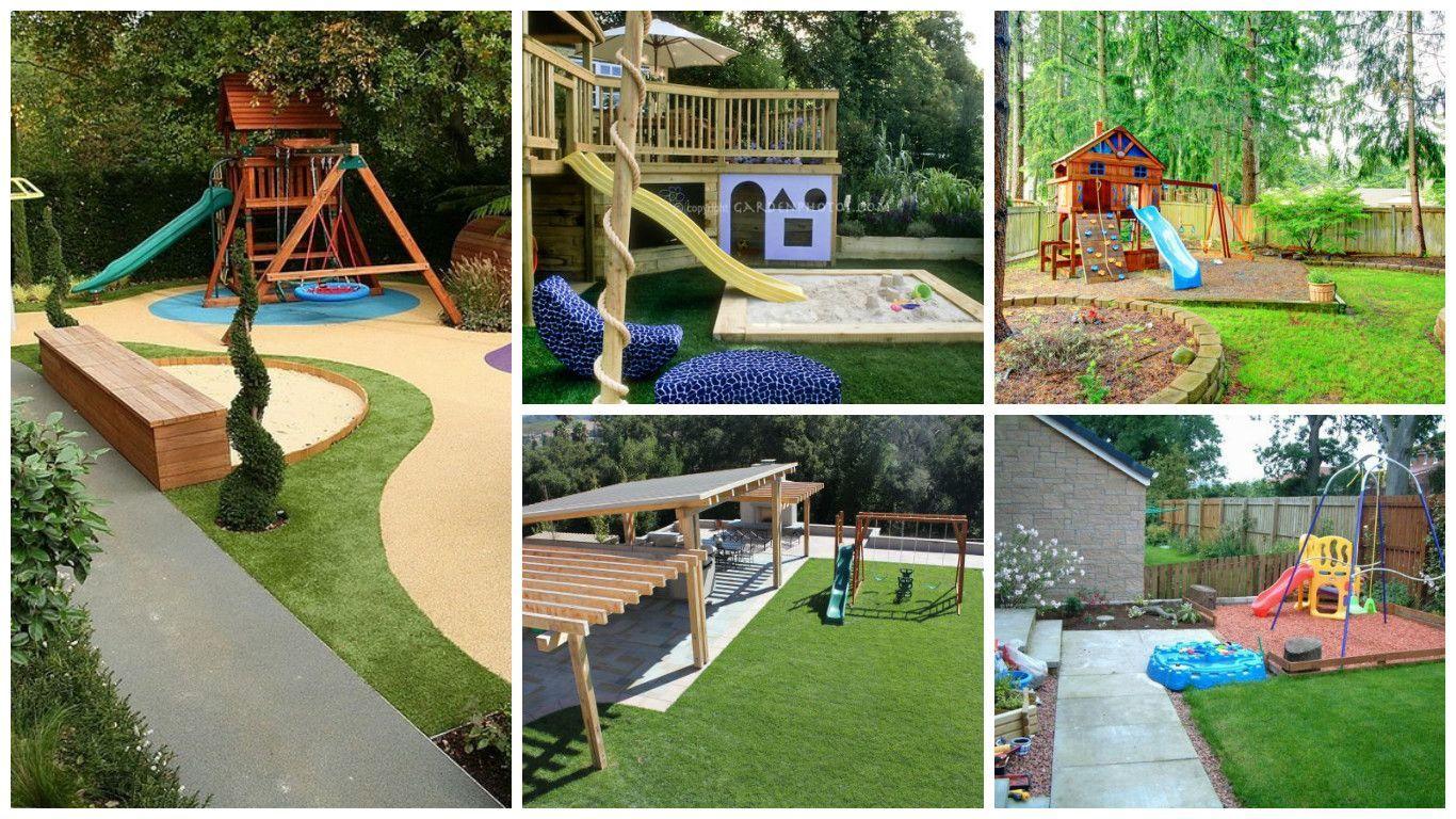 The Best Kid Friendly Backyard Playground For Kids Kid Friendly