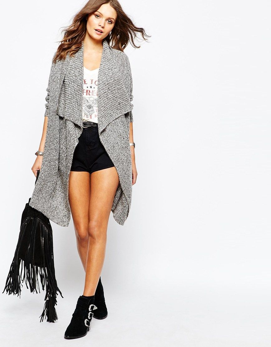 New Look Waterfall Cardigan | Beautiful clothes