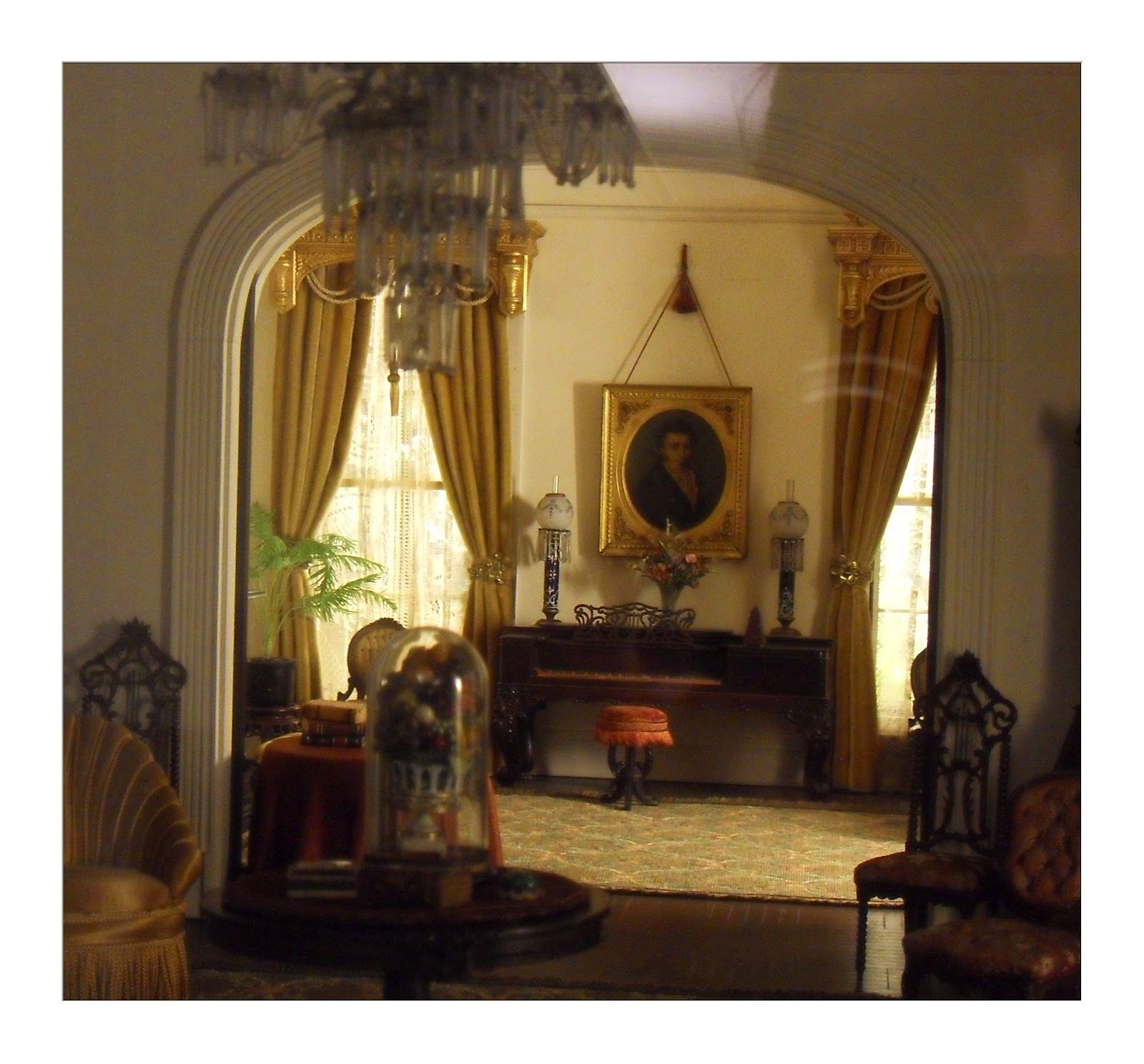 Dollhouse Miniatures Chicago: Narcissa Niblack Thorne Miniature Room At Art Institute Of