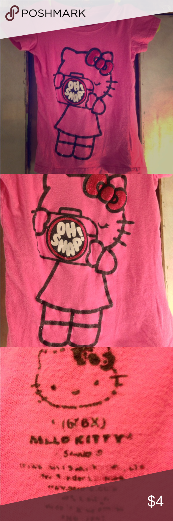 Girls Hello Kitty Shirt Size 6x. Girls Hello Kitty Shirt Size 6x. Hello Kitty Shirts & Tops Tees - Short Sleeve