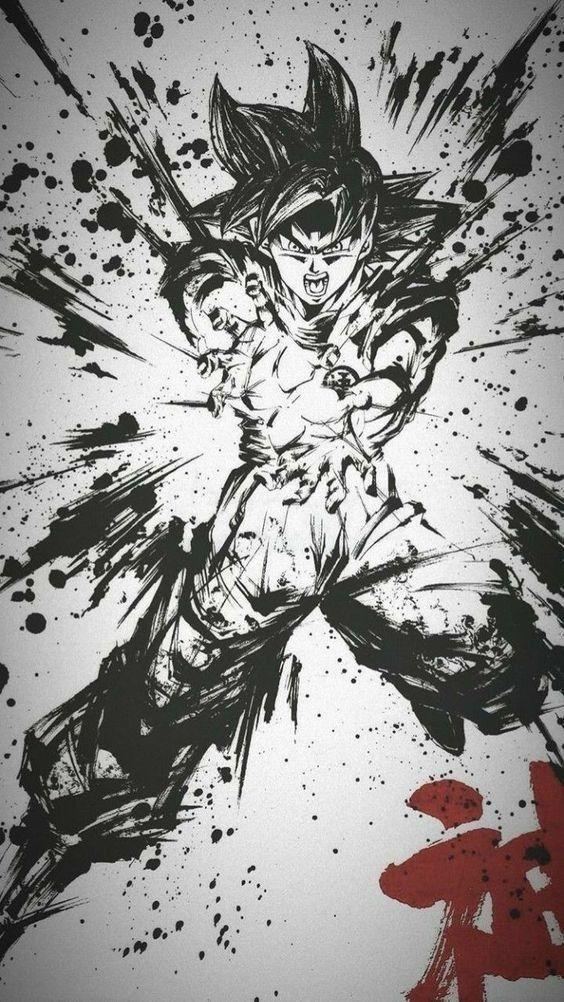 Flowy Knit Cardigan Dragon Ball Artwork Dragon Ball Tattoo Anime Dragon Ball Super Artwork anime wallpaper sketch