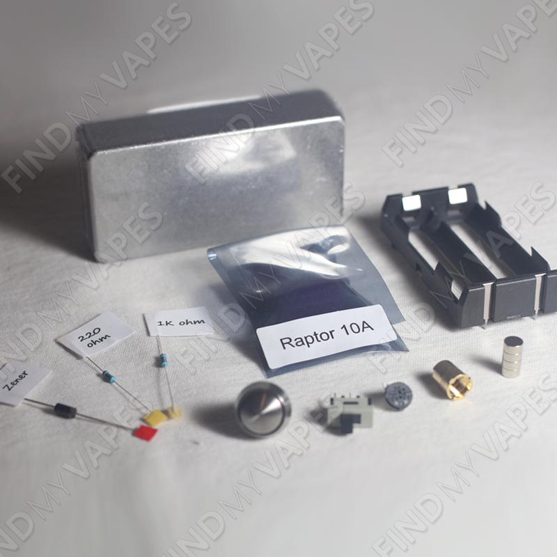 DIY Raptor 10A Box Mod Kit   DIY mod   Box, Vape, DIY