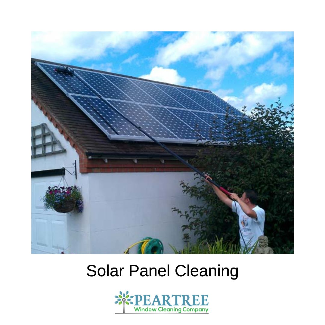 Did You Know That Cleaning Solar Panels Helps Make Them More Efficient Visit Our Website To Discover More Benefits Of H Solar Panels Best Window Cleaner Solar