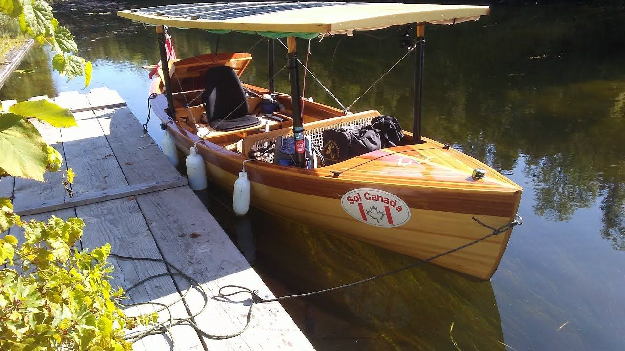 Part Three Solar Electric Boat Trip on the Rideau