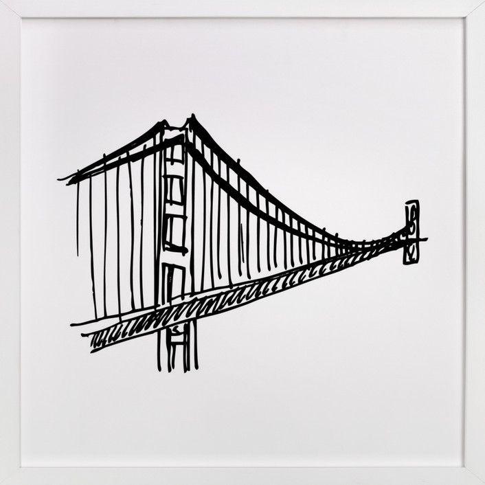 Gracious Golden Gate Bridge Golden Gate Bridge Art Golden Gate Bridge Wall Art West Elm Art