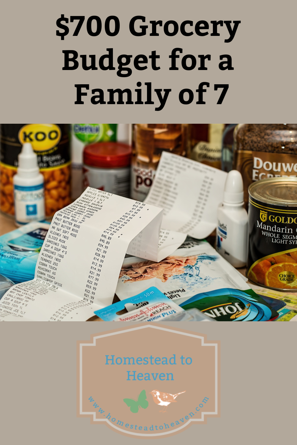 700 Grocery Budget for a Family of 7 Homemade soft