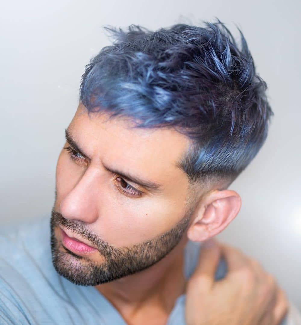 17 Mess Hairstyles For Men That Are Super Cool Men Hair Color