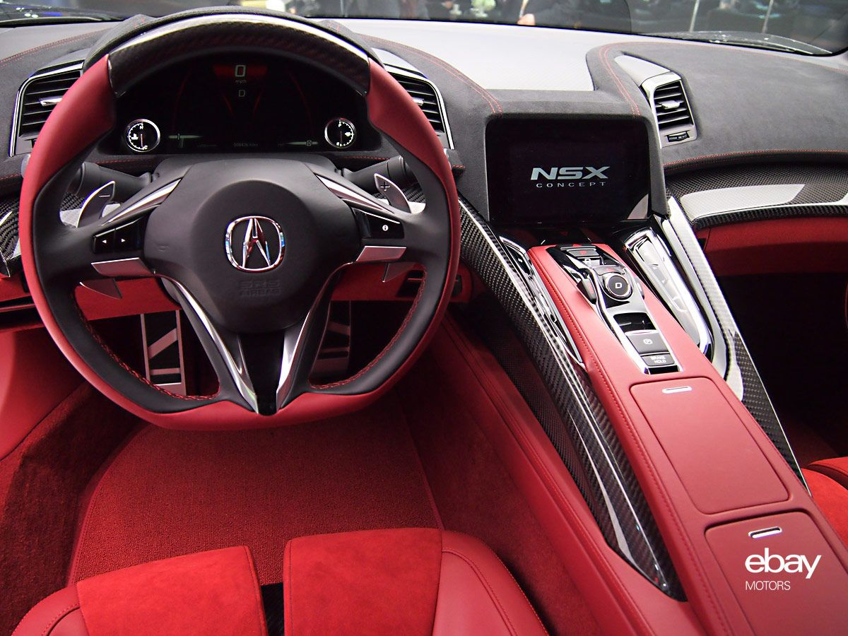 2015 Acura NSX Interior High Quality Picture HD Wallpaper Amazing Pictures