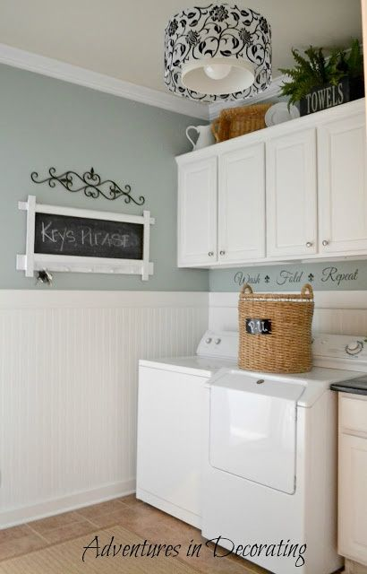 Like the wainscoting | Living Room Ideas | Pinterest | The old, The Wainscoting In Laundry Room on water softener in laundry room, built ins in laundry room, furniture in laundry room, chalkboard paint in laundry room, countertops in laundry room, subway tile in laundry room, marble in laundry room, wet bar in laundry room, laying tile in laundry room, ceiling fan in laundry room, backsplash in laundry room, hardwood in laundry room, gray cabinets for laundry room, beadboard laundry room, windows in laundry room, showers in laundry room, water heater in laundry room, shutters in laundry room, back door in laundry room, ceramic tile in laundry room,
