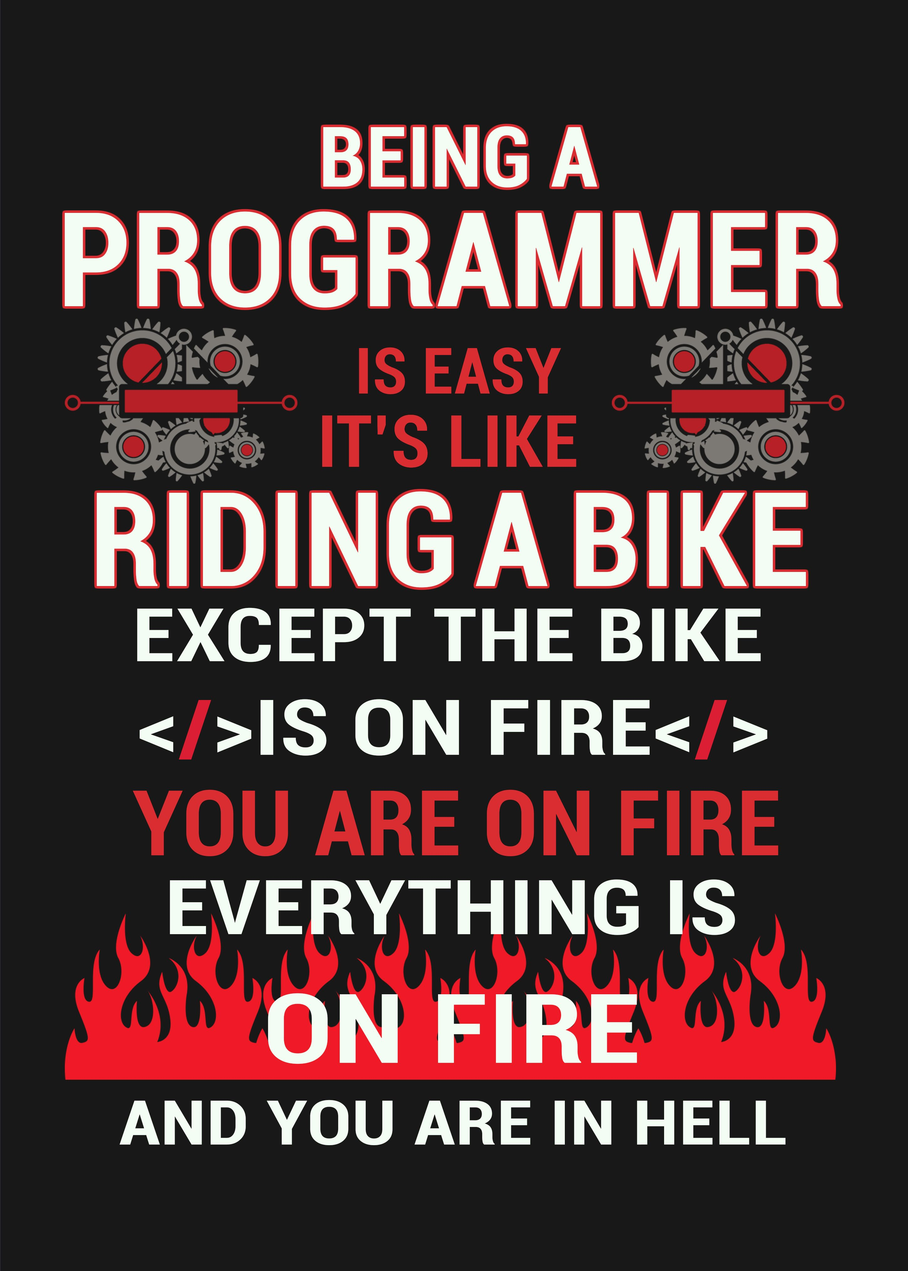 Programmer Funny Gift Idea Metal Poster Print Posterworld Displate Funny Meme Quotes Geek Quotes Programmer Humor