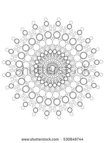 Image result for mandala dot patterns | Art - Mandalas