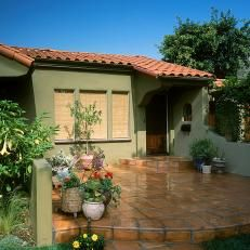 Green Sage And Terracotta Tile Roof Google Search Paint Consulting Ideas Pinterest