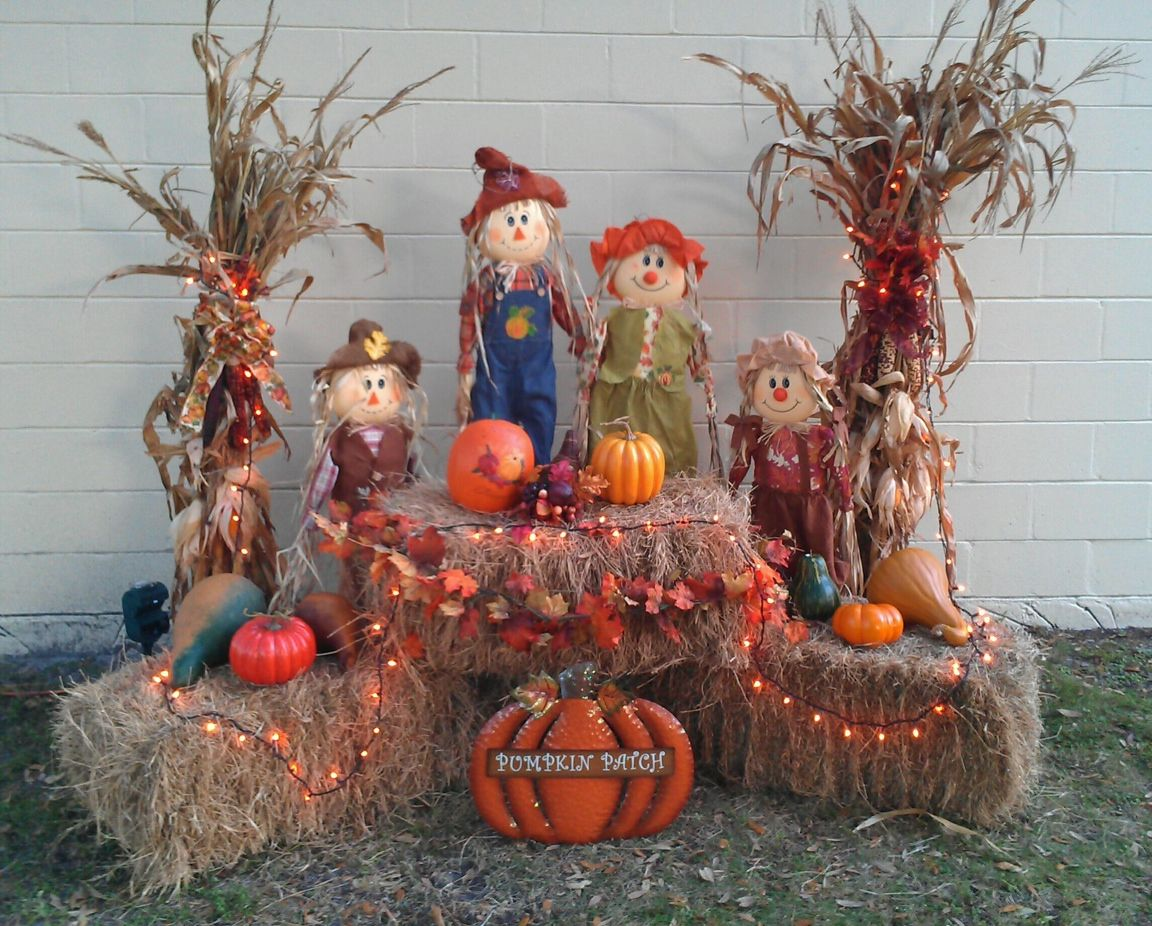 my outside decor for fall for the home pinterest