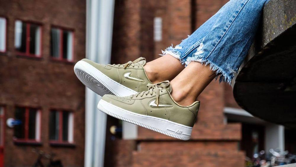 Nike Air Force 1 '07 | 'PRM LX' OliveGoldBronze | Womens