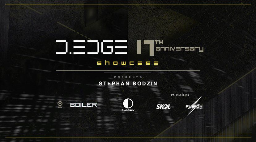 RA: D.Edge 17th Anniversary Showcase RJ with Stephan Bodzin at TBA - Brazil, Brazil