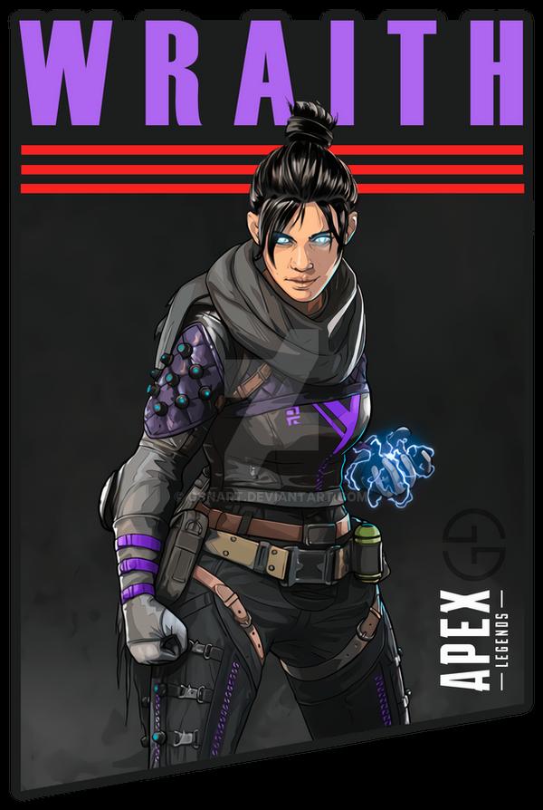 Wraith Into The Void Apex Legends By Gsnart On Deviantart Apex Legend Joker