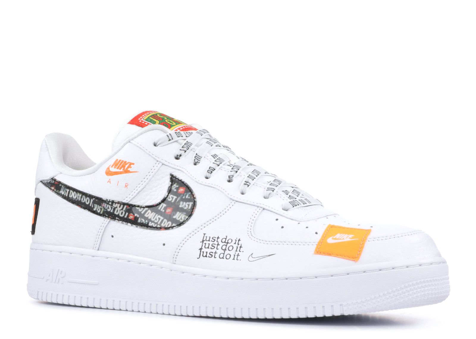 Air Force 1 07 Prm Jdi Just Do It Air Force Shoes White