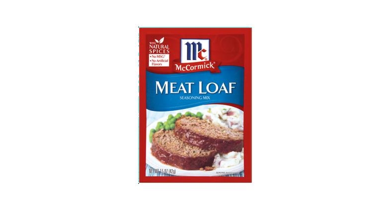 McCormick® Meat Loaf Recipe | McCormick