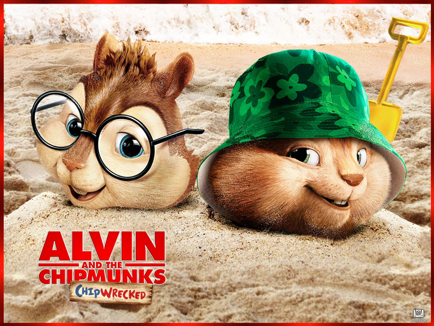 Alvin and the Chipmunks Wallpaper | Munk Yourself - Alvin and the Chipmunks:  Chip-wrecked - On Blu-Ray .