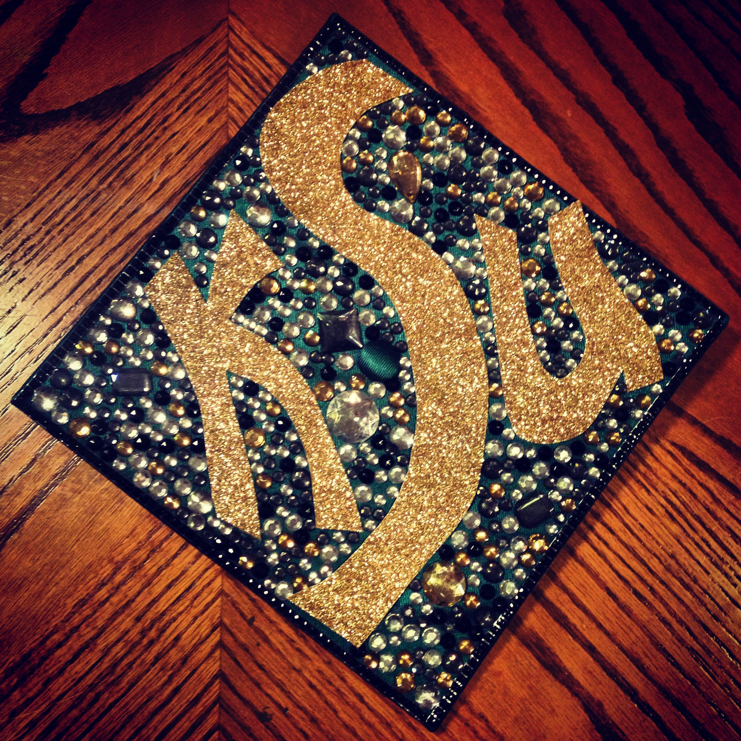 My graduation cap decorated! Kennesaw State University