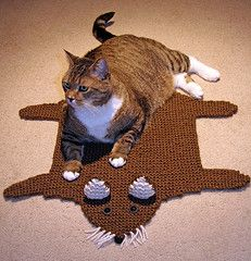 Cat mat - for the cat who has everything....