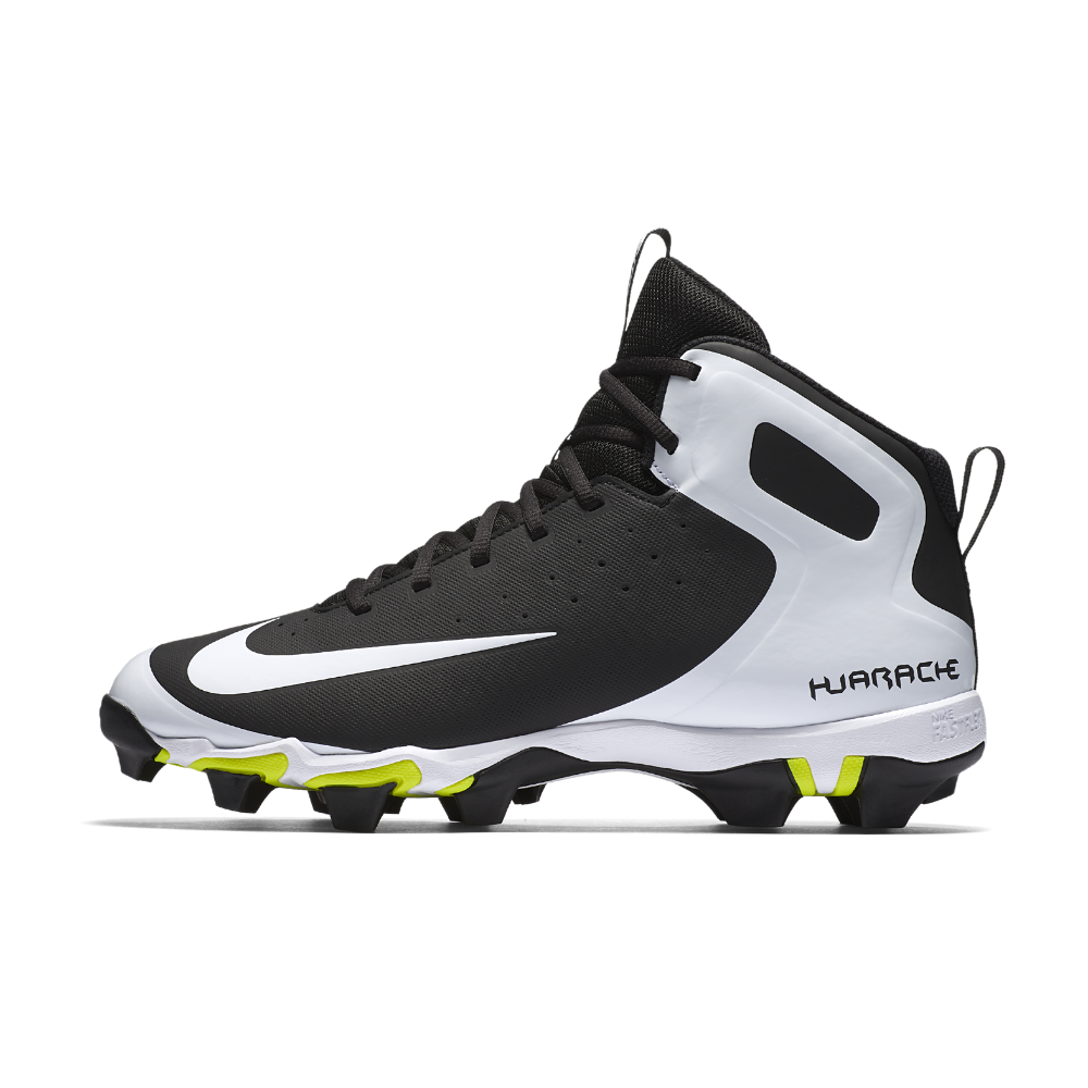 half off 21dc7 fc70d Nike Alpha Huarache Keystone Mid Men s Baseball Cleats Size 10.5 (Black)