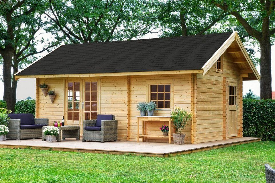 Set Gartenhaus »Colorado«, BxT 595x410 cm, inkl