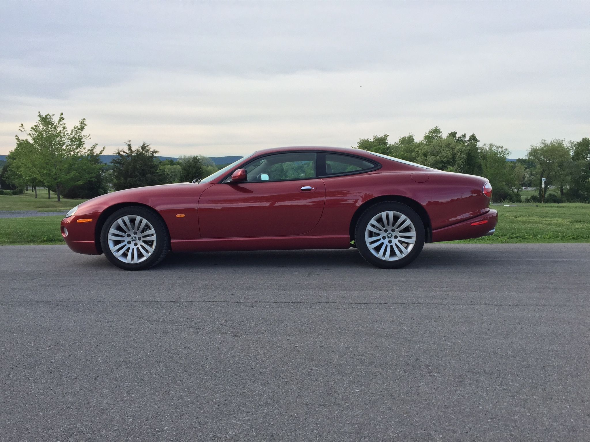 Jaguar 2005 XK8 Radiance Red The iconic E type lineage and